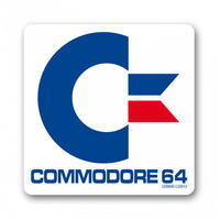 Commodore 64 Logo Coaster
