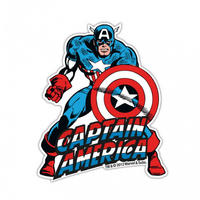 Captain America Die Cut Fridge Magnet