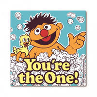 "Ernie ""You're The One!"" Die Cut Fridge Magnet"