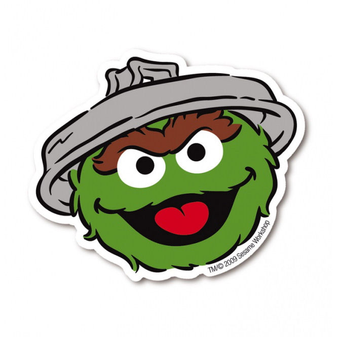 oscar the grouch cartoon face images galleries with a bite. Black Bedroom Furniture Sets. Home Design Ideas
