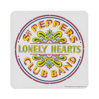 Sgt Peppers Lonely Hearts Club Band Drum Coaster Thumbnail 1