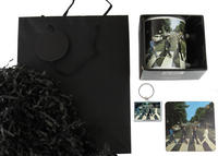 Beatles Abbey Road Mug, Coaster, & Keyring Gift Bag Thumbnail 3