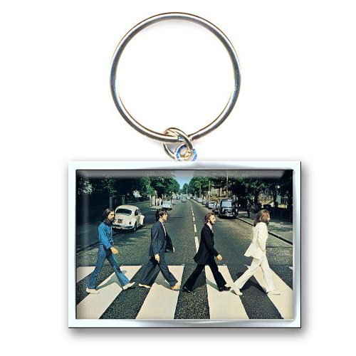 The Beatles Abbey Road Metal Keyring