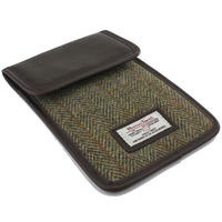 Harris Tweed Green & Brown iPad Mini Case