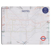View Item London Underground Tear Off Mouse Mat Pad
