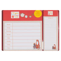 View Item Tiger Who Came To Tea Magnetic Meal & Shopping Planner