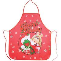 Kermit The Frog & Miss Piggy Muppets Christmas Apron In A Tube