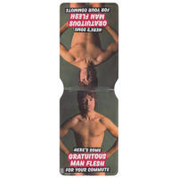 Here's Some Gratuitous Man Flesh For Your Commute Travel/Oyster Card Holder