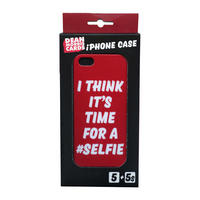 I Think It's Time For A #Selfie Cover for Apple iPhone 5 & 5S