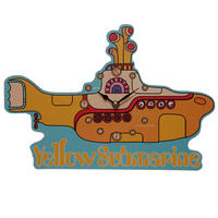 The Beatles Yellow Submarine Wall Clock Thumbnail 2