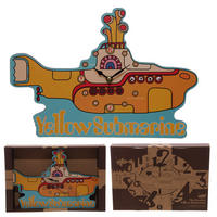The Beatles Yellow Submarine Wall Clock Thumbnail 1