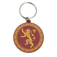 Game of Thrones House Lannister Rubber Keying