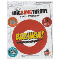 The Big Bang Theory Set of 5 Vinyl Stickers