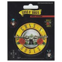 Guns N Roses Set of 5 Vinyl Stickers