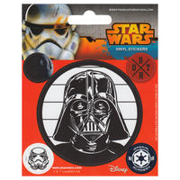 Star Wars Darth Vader Set of 5 Vinyl Stickers