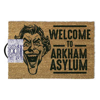 "The Joker ""Welcome To Arkham Asylum"" Door Mat Thumbnail 1"