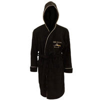 Pink Floyd Dark Side Black Fleece Dressing Gown