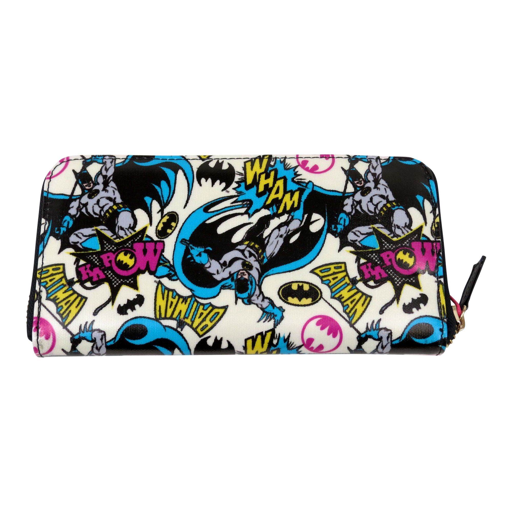 Large Batman Pop Art Zipped Purse