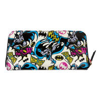 Large Batman Pop Art Zipped Purse Thumbnail 1