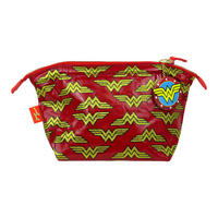 Wonder Woman Multi Logo Make-Up Bag
