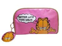 "Garfield ""Better Late Than Ugly"" Make-Up Bag"