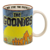 The Goonies Cast Silhouette Mug