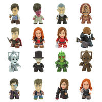 Complete Set Of 16 Doctor Who 3 Inch Collectible Vinyl Figures - Wave 4 Geronimo!