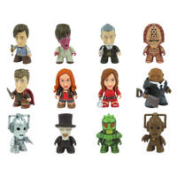 Set Of 12 Main Doctor Who 3 Inch Collectible Vinyl Figures - Wave 4 Geronimo!