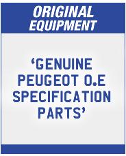 Peugeot Original Equipment Parts