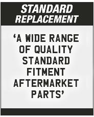 Peugeot Standard Replacement Parts