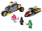79102 LEGO Stealth Shell In Pursuit Ninja Turtles Ages 6-12 / 162 Pieces