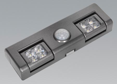 Gl93 Sealey Auto 8 LED Light With Pir Sensor [Garden Lighting] Preview