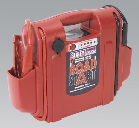 RS1 Sealey Roadstart® Emergency Power Pack 12V 1000 Peak AMPs Preview