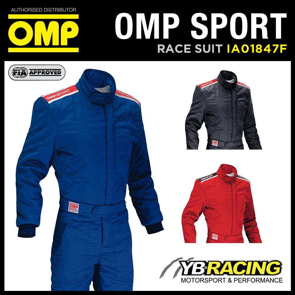 OMP SPORT ENTRY LEVEL RACE SUIT