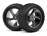Maverick MV28047 1/18 Truggy Wheel And Tyre Assembly (Ion Xt)