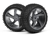 Maverick MV28052 1/18 Buggy/Sc Wheel And Tyre Assembly (Ion XB/Sc)