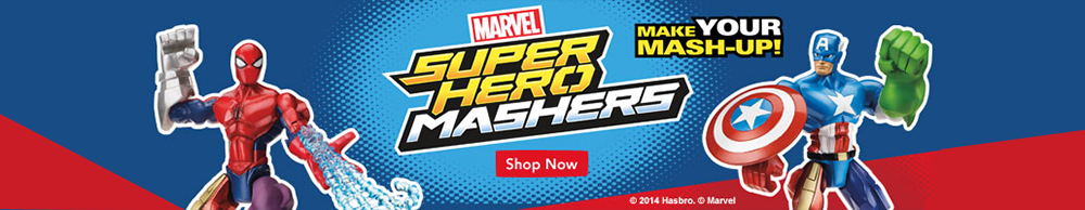 MARVEL SUPER HERO MASHERS HULK! MASH UP YOUR HEROES! HASBRO A6836 NEW IN BOX!