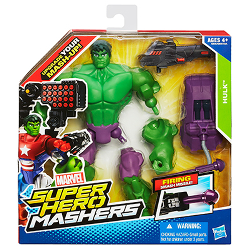 MARVEL SUPER HERO MASHERS HULK! MASH UP YOUR HEROES! HASBRO A6836 NEW IN BOX! Enlarged Preview