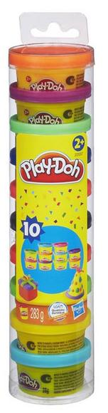 Play-Doh Party Pack 10 Pots Of Play-Doh Ages 2+ Hasbro 22037 Brand New In Box! Preview