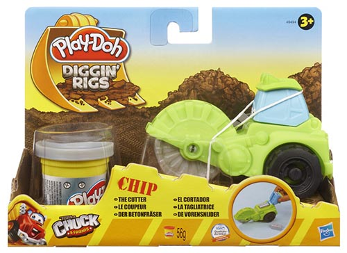 Play-Doh Tool Crew Diggin' Rigs Chip The Cutter + 1 Pot Of Play-Doh Hasbro 49494 Preview