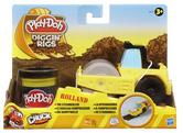 Play-Doh Tool Crew Diggin' Rigs Rolland Steam Roller + 1 Pot Of Play-Doh! 49576
