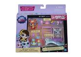 Littlest Pet Shop Pet Party Set Figures And Accessories Deco Bits & Stickers