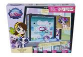 Littlest Pet Shop Design Your Way Spa Set +Zoe Trent Figure 35 Pcs Hasbro A8542