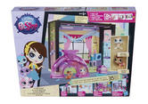 Littlest Pet Shop Design Your Way Fun Room Set + 2 Figures 35 & Pcs Hasbro A8543