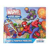 Playskool Heroes Spiderman Book Sidney'S Pumpkin Problems Super Hero Adventures