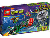 79120 LEGO T-Rawket Sky Strike Ninja Turtles Ages 6-12 / 286 Pieces / 2014