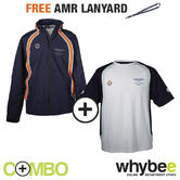 ASTON MARTIN RACING TEAM GULF JACKET & T-SHIRT SET + FREE AMR TEAM LANYARD!
