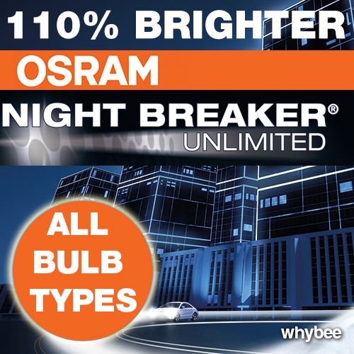 new osram night breaker plus unlimited 110 h1 h3 h4 h7 h11 hb3 hb4 bulbs. Black Bedroom Furniture Sets. Home Design Ideas