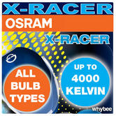 Osram X-Racer Xenon Look Bulbs H4 H7 Motorbike Motorcycle Bike Scooter Quad Atv