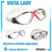 Sale! Aqua Sphere Vista Ladies Swimming Masks - Womens Swim Mask Goggles